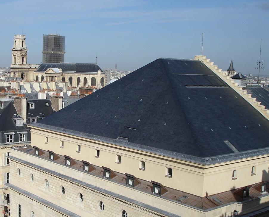 Monumnt histroique toiture